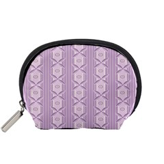 Flower Star Purple Accessory Pouches (Small)