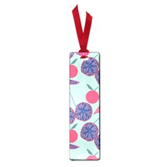 Passion Fruit Pink Purple Cerry Blue Leaf Small Book Marks