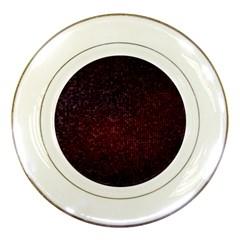 3d Tiny Dots Pattern Texture Porcelain Plates