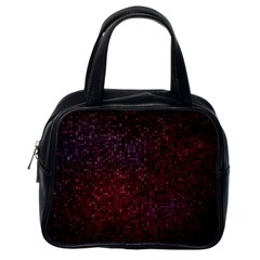 3d Tiny Dots Pattern Texture Classic Handbags (One Side)