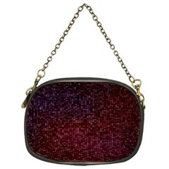 3d Tiny Dots Pattern Texture Chain Purses (one Side)