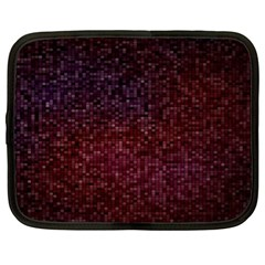 3d Tiny Dots Pattern Texture Netbook Case (xl)