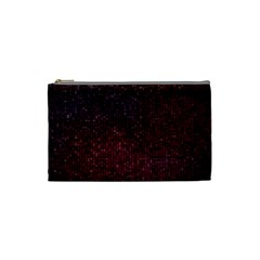 3d Tiny Dots Pattern Texture Cosmetic Bag (Small)