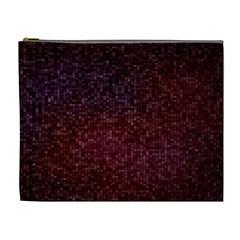 3d Tiny Dots Pattern Texture Cosmetic Bag (xl)