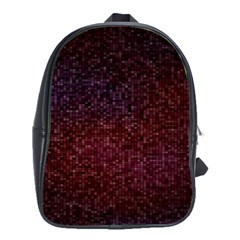 3d Tiny Dots Pattern Texture School Bags(Large)
