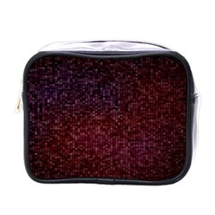 3d Tiny Dots Pattern Texture Mini Toiletries Bags