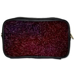 3d Tiny Dots Pattern Texture Toiletries Bags 2 Side
