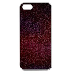 3d Tiny Dots Pattern Texture Apple Seamless Iphone 5 Case (clear)