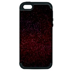 3d Tiny Dots Pattern Texture Apple Iphone 5 Hardshell Case (pc+silicone)