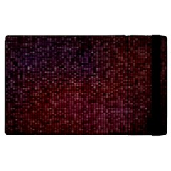 3d Tiny Dots Pattern Texture Apple Ipad 3/4 Flip Case