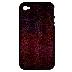 3d Tiny Dots Pattern Texture Apple Iphone 4/4s Hardshell Case (pc+silicone)