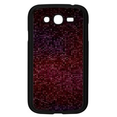 3d Tiny Dots Pattern Texture Samsung Galaxy Grand Duos I9082 Case (black)