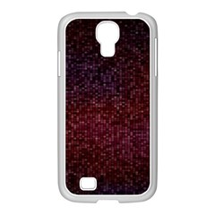 3d Tiny Dots Pattern Texture Samsung Galaxy S4 I9500/ I9505 Case (white)
