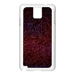 3d Tiny Dots Pattern Texture Samsung Galaxy Note 3 N9005 Case (white)