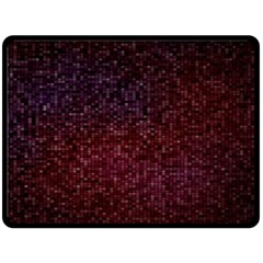 3d Tiny Dots Pattern Texture Double Sided Fleece Blanket (large)