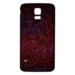 3d Tiny Dots Pattern Texture Samsung Galaxy S5 Back Case (white)