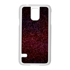 3d Tiny Dots Pattern Texture Samsung Galaxy S5 Case (White)