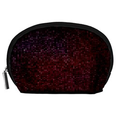 3d Tiny Dots Pattern Texture Accessory Pouches (large)