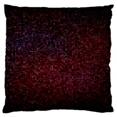 3d Tiny Dots Pattern Texture Large Flano Cushion Case (Two Sides)
