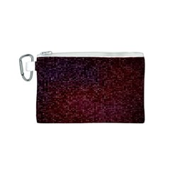 3d Tiny Dots Pattern Texture Canvas Cosmetic Bag (s)