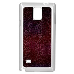 3d Tiny Dots Pattern Texture Samsung Galaxy Note 4 Case (White)