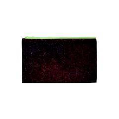 3d Tiny Dots Pattern Texture Cosmetic Bag (xs)