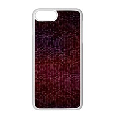 3d Tiny Dots Pattern Texture Apple Iphone 7 Plus White Seamless Case