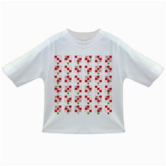 Permutations Dice Plaid Red Green Infant/Toddler T-Shirts