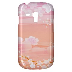 Season Flower Floral Pink Galaxy S3 Mini