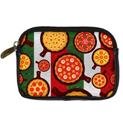 Pizza Italia Beef Flag Digital Camera Cases