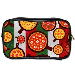 Pizza Italia Beef Flag Toiletries Bags