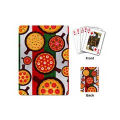 Pizza Italia Beef Flag Playing Cards (Mini)