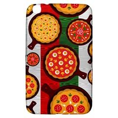Pizza Italia Beef Flag Samsung Galaxy Tab 3 (8 ) T3100 Hardshell Case
