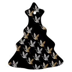 Goose Swan Gold White Black Fly Ornament (Christmas Tree)