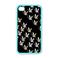 Goose Swan Gold White Black Fly Apple iPhone 4 Case (Color)