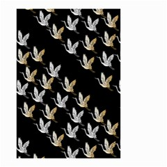 Goose Swan Gold White Black Fly Small Garden Flag (Two Sides)