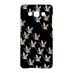 Goose Swan Gold White Black Fly Samsung Galaxy A5 Hardshell Case