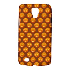Pumpkin Face Mask Sinister Helloween Orange Galaxy S4 Active