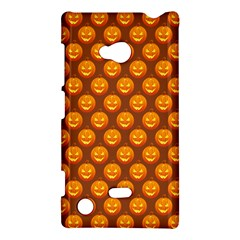 Pumpkin Face Mask Sinister Helloween Orange Nokia Lumia 720