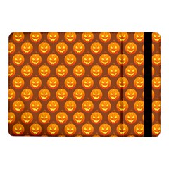 Pumpkin Face Mask Sinister Helloween Orange Samsung Galaxy Tab Pro 10.1  Flip Case