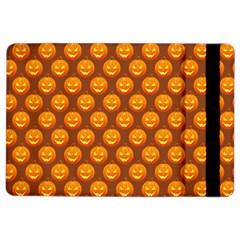 Pumpkin Face Mask Sinister Helloween Orange Ipad Air 2 Flip