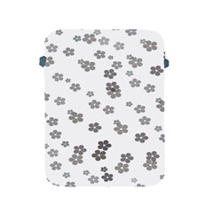 Flower Grey Jpeg Apple iPad 2/3/4 Protective Soft Cases