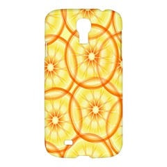 Lemons Orange Lime Circle Star Yellow Samsung Galaxy S4 I9500/I9505 Hardshell Case