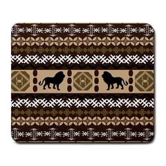 African Vector Patterns  Large Mousepads