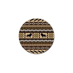 African Vector Patterns  Golf Ball Marker (10 Pack)
