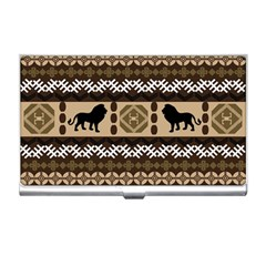 African Vector Patterns  Business Card Holders