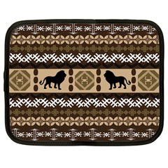 African Vector Patterns  Netbook Case (Large)