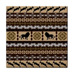 African Vector Patterns  Face Towel
