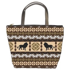 African Vector Patterns  Bucket Bags