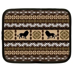 African Vector Patterns  Netbook Case (XL)
